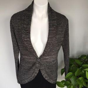 🎉 Gray & Silver Cardigan Sweater 🎉